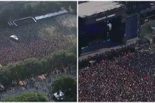 Konser musik dihadiri 100 ribu orang, diprediksi jadi kluster baru