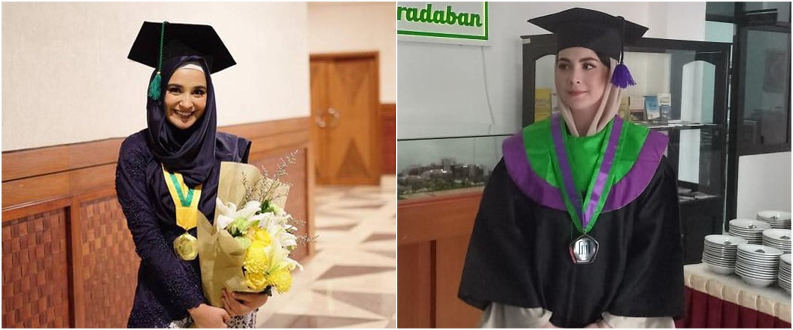 Kisah 9 seleb lulus kuliah S1 usai menikah, penuh perjuangan