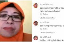 Komentar kocak ibu Sri guru viral TikTok, sosoknya bikin penasaran