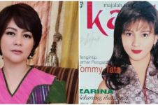 7 Potret Moudy Wilhemina di cover majalah jadul, parasnya tak berubah