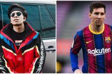 Foto editan Lionel Messi gabung klub bola Atta Halilintar, auto heboh