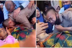Seminggu pendidikan, tangis Bintara Polri pecah lihat ayahnya tiada
