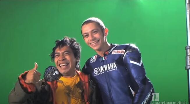 Komeng dan Valentino Rossi © 2021 brilio.net