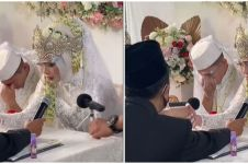 Ayah sudah tiada, momen pengantin izin diwalikan nikah ini bikin haru