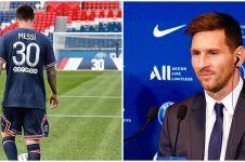 11 Potret hari pertama Lionel Messi di PSG, fans penuhi jalanan Paris