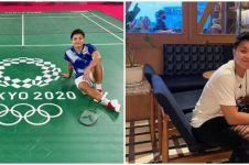 Momen Apriyani bertemu sang ayah usai Olimpiade Tokyo, penuh haru