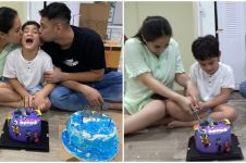 11 Momen kejutan ulang tahun Rafathar, isi kuenya jadi sorotan
