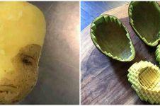 11 Cara lucu orang kupas makanan ini hasilnya bikin tepuk jidat
