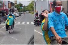 Kisah suami antar jemput istri pakai sepeda selama 28 tahun, salut