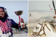 9 Potret Arum Nazlus, atlet Indonesia juara panahan berkuda di Turki