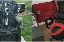 11 Ide kreatif bikin kursi nyeleneh ini hasilnya malah absurd abis