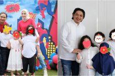 9 Momen ulang tahun Shaka anak Pasha Ungu, bertema Spiderman