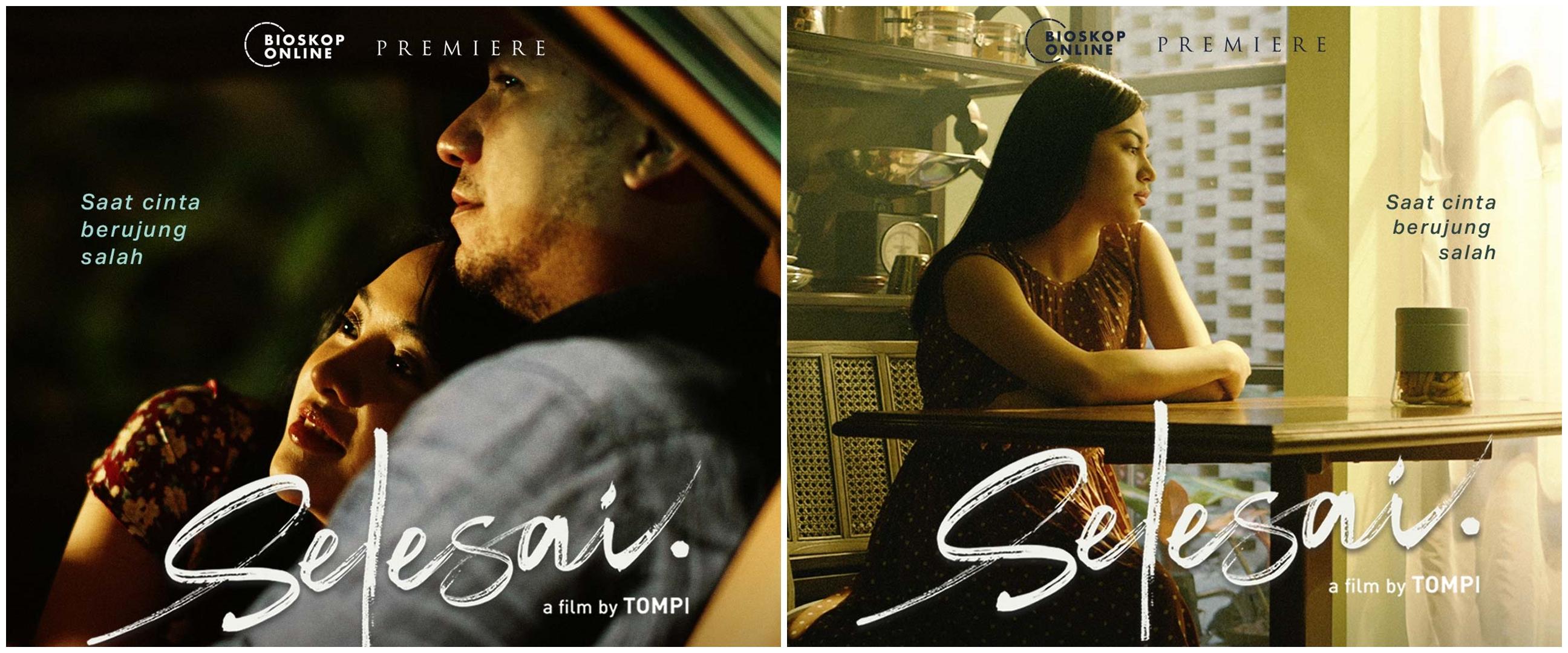 Gading & Ariel Tatum ungkap kisah syuting adegan mesra di film Selesai