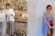 11 Foto penampilan Ayu Ting Ting di pernikahan Lesty & Billar, anggun