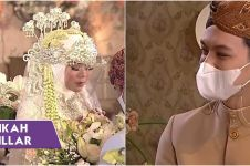 Gaya 11 selebriti di akad nikah Rizky Billar dan Lesty Kejora