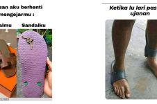 11 Meme lucu pakai sandal ini bikin ngangguk setuju