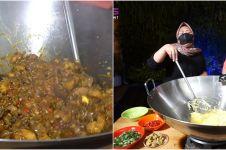 7 Momen Nagita Slavina masak 100 ayam, bikin langsung lapar