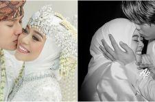 7 Momen mesra Lesty dan Billar usai menikah, suap-suapan makan