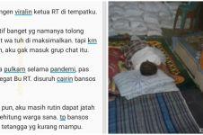 Kisah viral ketua RT urus bansos, tiap malam diam-diam begadang