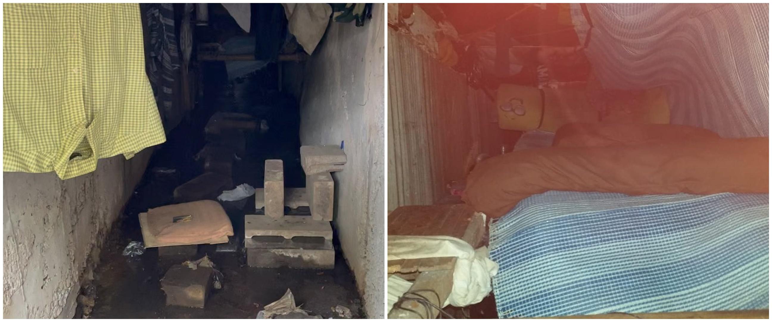 Viral penemuan 'kamar tidur' di saluran drainase kota Bandung