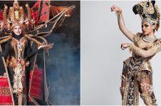 Kerap jadi terbaik, ini 7 kostum Indonesia di kontes kecantikan dunia