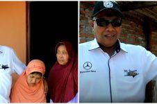Aksi dermawan bos PO Haryanto bedah rumah tukang becak, bikin salut