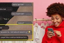 11 Chat lucu pembeli online shop malah gagal fokus ini kocak pol