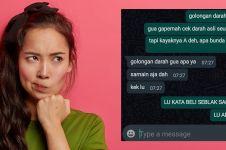 11 Chat lucu temen asal ngegampangin ini bikin tepuk jidat