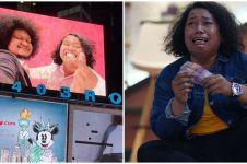 Pesan haru Marshel Widianto usai wajahnya ada di Times Square New York