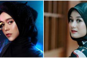 9 Beda gaya Dinda Hauw & Lesty Kejora pakai makeup tebal, cantik pol