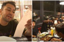 Raffi Ahmad syok, traktir timnya makan di Turki habis Rp 130 juta