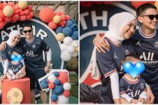 7 Momen Rezky Aditya dan Citra Kirana rayakan ultah anak, bertema bola