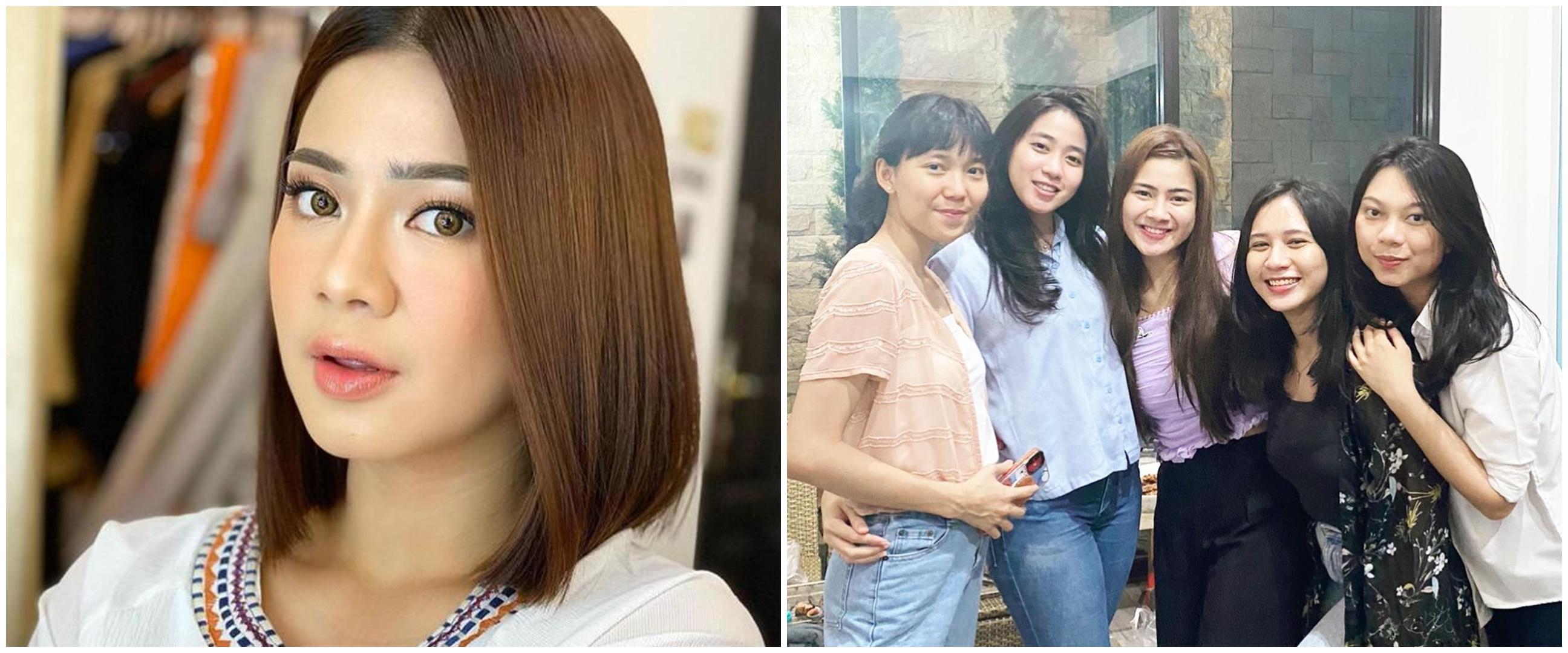 Felicya Angelista reka ulang foto saat SMP, gaya rambutnya konsisten