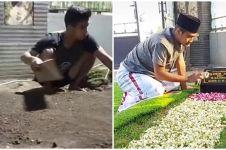 Alasan pria makamkan mendiang sang ibu di halaman rumah ini bikin haru