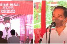 Momen lucu dialog santri Luhut dan Jokowi, minta didoakan jadi menteri