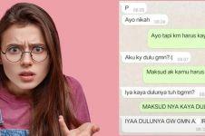 11 Chat lucu sama-sama nggak nyambung ini bikin ikut bingung
