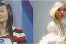 Kini penyanyi pop terkenal, ini 9 beda gaya dulu dan kini Rinni Idol