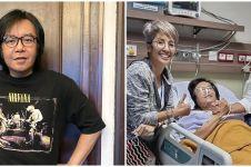 7 Potret Ari Lasso usai jalani operasi tumor, ekspos perut diperban