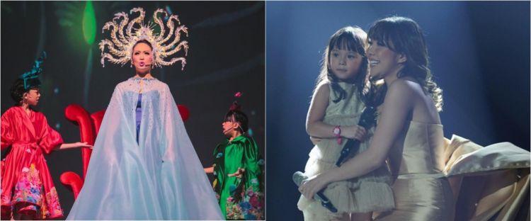Aksi 7 penyanyi duet bareng anak di panggung, terbaru Ayu Ting Ting