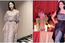 Selalu tampil stylish, intip 9 gaya kondangan Ririn Dwi Ariyanti