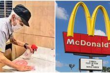 Viral kakek 93 tahun jadi pegawai McDonald's, kisahnya bikin takjub