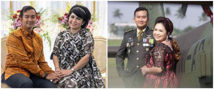 9 Potret prewedding Joy Tobing, romantis dengan konsep militer