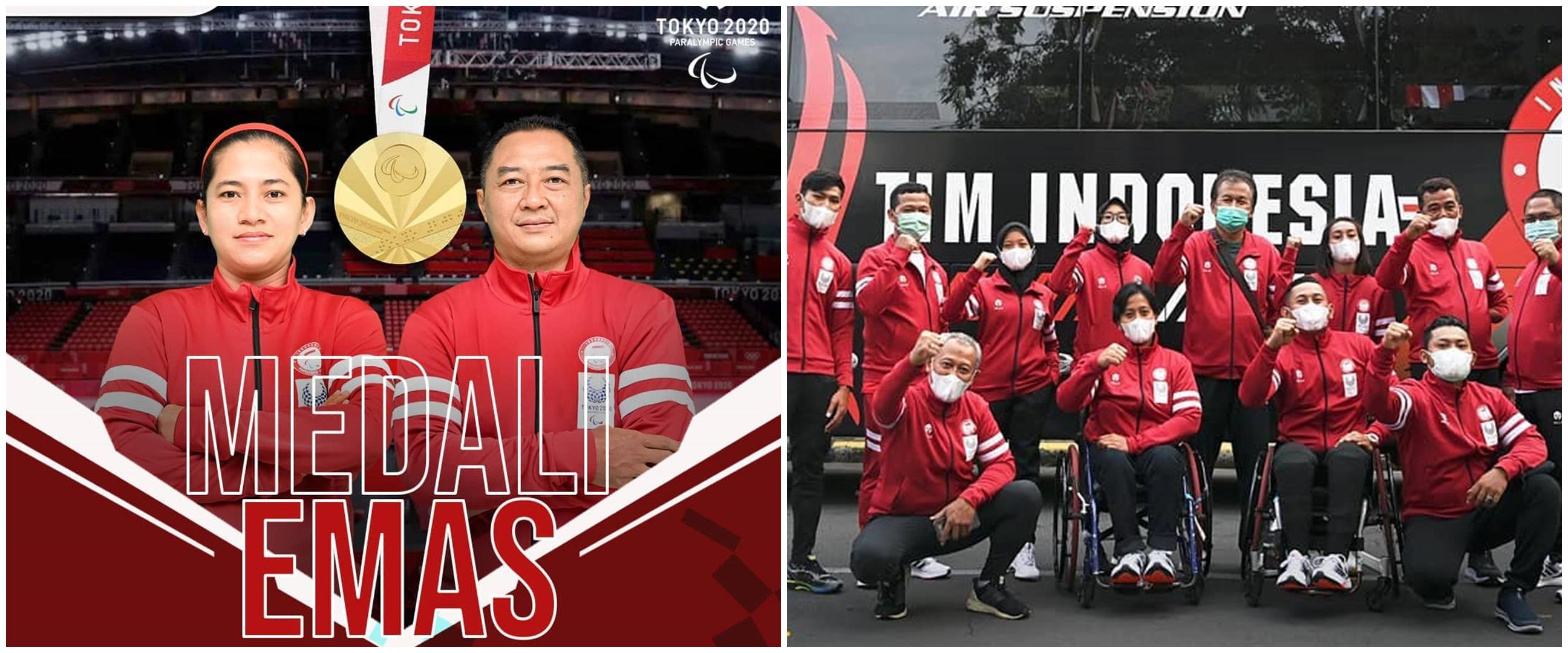 Indonesia tambah emas Paralimpiade Tokyo 2020, jadi penutup manis