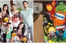 Uniknya perayaan ultah 7 anak seleb, dekorasinya bertema superhero