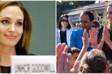7 Aksi kemanusiaan Angelina Jolie, dirikan yayasan dan bantu pengungsi