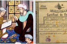 Viral sertifikat vaksin zaman kekaisaran Turki, umurnya 113 tahun