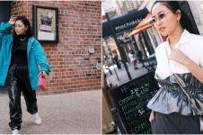 Hadiri New York Fashion Weeks, begini 9 gaya Rachel Vennya di AS
