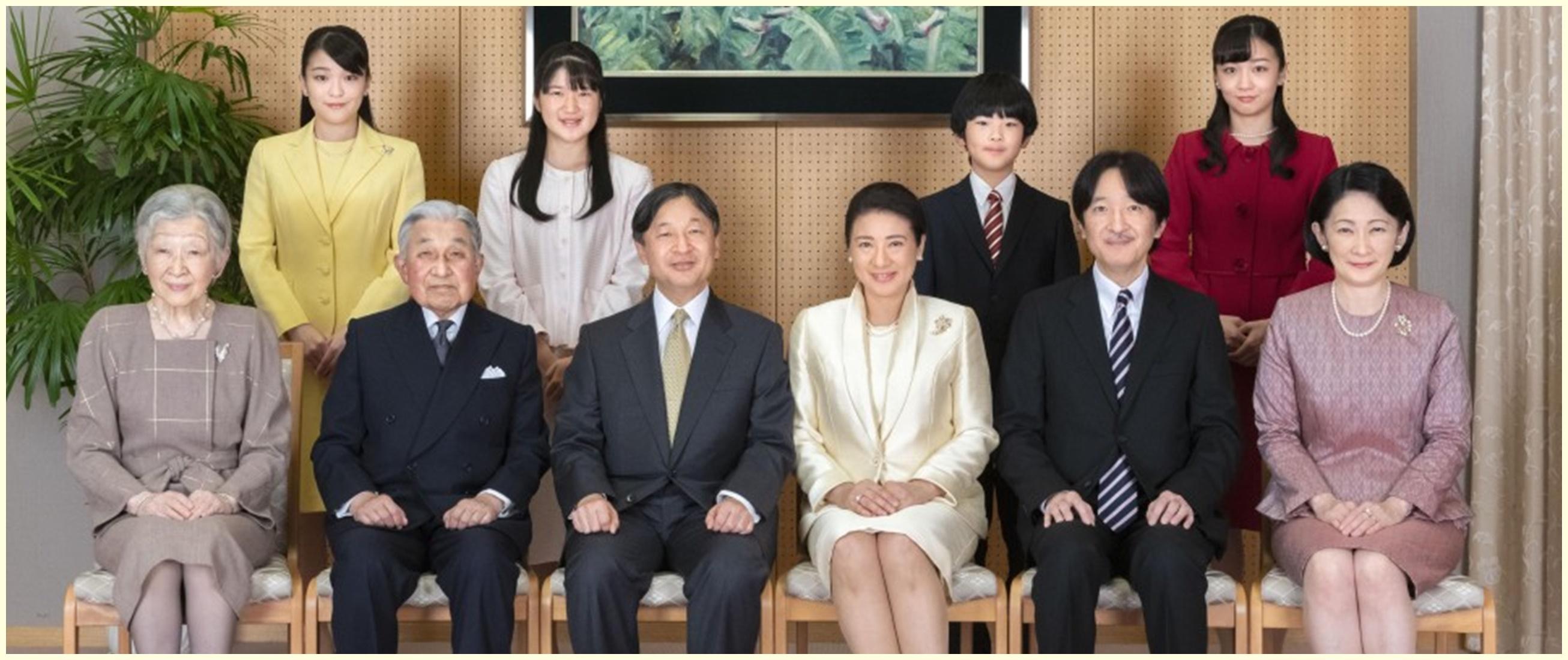 Kekurangan ahli waris, kekaisaran Jepang akan adopsi anak laki-laki