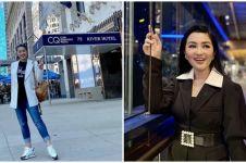 Momen Fitri Carlina nyanyi dangdut di Times Square New York