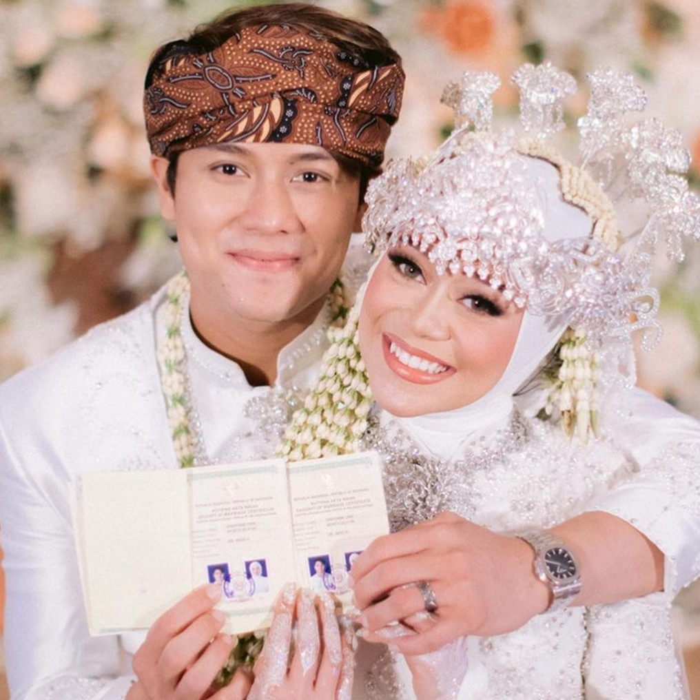 Susul menikah, Lutfi Agizal gandeng desainer sama dengan Rizky Billar